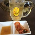 清香園 - 迎え酒気味の昼シュワたまりません~_~;