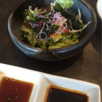 清香園 - セットのサラダです(^^)