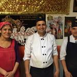 LUMBINI CURRY HOUSE - 店員さん達です       左から スミタさん、バスさん、ユバラジュさん