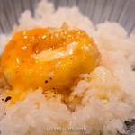 天ぷらめし 金子半之助  - たまご天ぷらを白米にON!