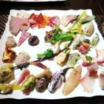 ロッシ - 様々な前菜の盛り合わせ