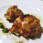 ロッシ - 鱈の白子のムニエル ケッパーレモン風味