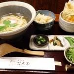 花水木 - 2014年4月 鳥天定食【900円】魅せるね~