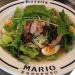 マリオエスプレッソ - 緑井限定!グリルしたチキン、トマトのバジリコソース