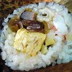 鮨 広尾 桂 - 豪華な具沢山の太巻き