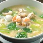 海鮮麦パールスープ