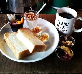 CLAMP COFFEE SARASA - クランプモーニング