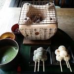 イクスカフェ - ほくほくお団子セット1,220円(税別)