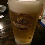 やま奇人 - 生ビール(中)