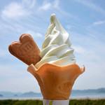 37729750 - 塩ソフトクリーム