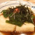 和座檜 - 揚げ出し豆腐