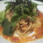 Masahiro - シメジのトマトソース
