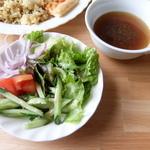 タンバール - サラダとスープ
