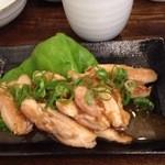 幸の鶏 - モモ焼アップ
