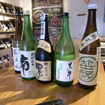 テイスティングバー 柴田屋酒店 - 日本酒ラインナップ