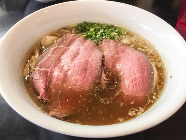 牛骨らぁ麺マタドール - 贅沢焼牛らぁ麺¥1050