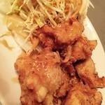 桂花飯店 - 日替わり:若鶏の唐揚げ