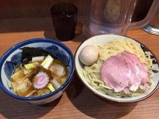 煮干中華そば鈴蘭 中野店 - つけめん750円+煮玉子100円(税込)