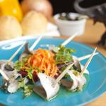 バル トト - 青魚のマリネ