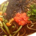 一福 - 料理写真:山菜そば
