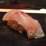 鮨 とかみ - 2015/5_ランチ7貫目:えぼ鯛