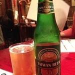 台湾食堂 帆 - 台湾ビール!うまい!