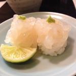 寿司 真之助 - 白エビさん