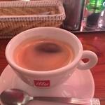 トラットリア築地トミーナ - ランチコーヒー。
