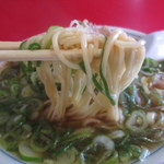 藤 本店 - 麺は、近藤製麺所製。
