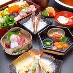 美々卯 - 料理写真:うどんすき「あおいコース」6,000円