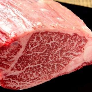 エイジングを施した厳選「銘柄牛」の熟成フィレステーキ!