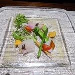 LEONE - 白身魚のカルパッチョ