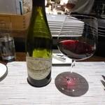 LEONE - サービスで頂いたグラスワイン