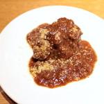 マチェレリーアディタケウチ - 牛ほほ肉のほどける赤ワイン煮込み (1296円) '15 3月下旬