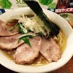 37753177 - トビウオ出汁のあご塩チャーシュー麺!