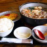 めん房なかもと - 牛饂飩鍋 1500円