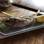 漁師料理十次郎 - 塩焼き