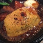 ハンバーグレストラン BOSTON - チーズ焼きハンバーグランチ