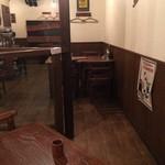 ハンバーグレストラン BOSTON - 店内