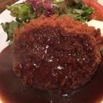 ハンバーグレストラン BOSTON - ミンチカツ ディナー