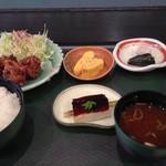 味波 - 日替わりランチA 700円