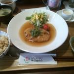 カフェ デリデリ - 豆腐ハンバーグ