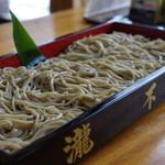 瀧不動生そば - 料理写真: