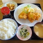 37755247 - チキンカツ定食(2015.3)