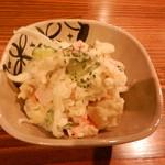 37759391 - ポテトサラダ (お通しで頂いたポテトサラダが美味しかったので、単品にて追加注文)
