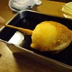 串カツ生野 - たまご