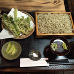 37759869 - 天然山菜天ぷらセイロそば