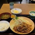 街かど屋 - 料理写真:生姜焼き定食&卵焼き