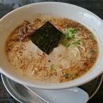 哲麺 - 豚骨醬油ラーメン 500円
