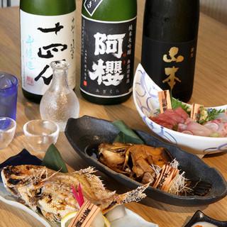 魚に合う日本酒あります!